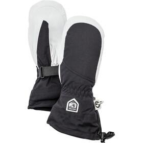 Hestra Heli Ski Handsker Damer, sort/hvid